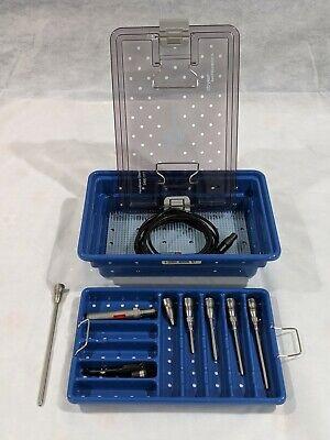 Stryker 5400-100 Core U Drill With Elite Attachments And Sterilization Case