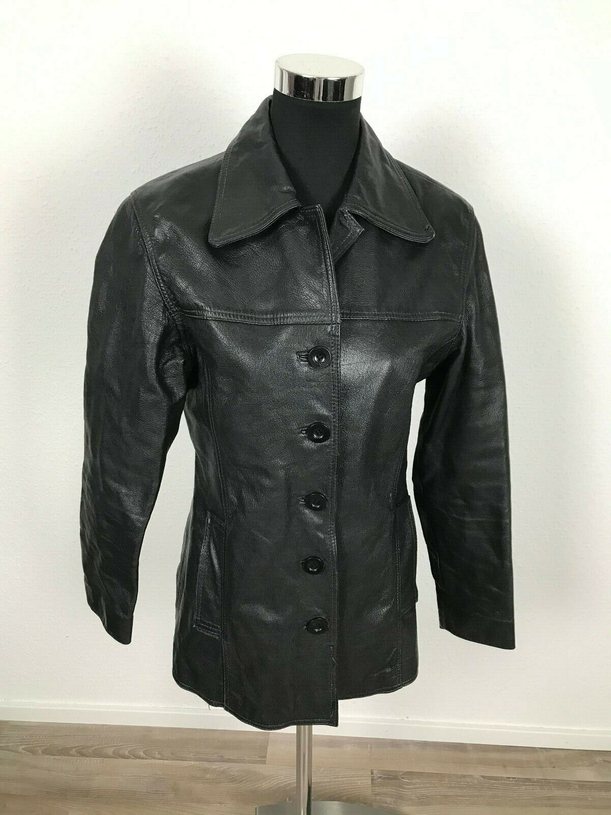 Luxus Damen Lederjacke Jacke Gr.36 100% Leder Echtleder