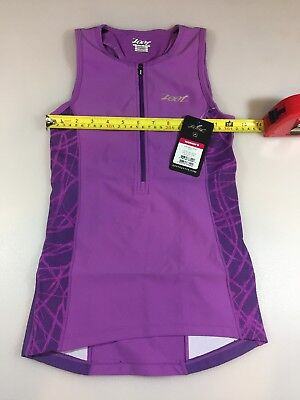 Zoot Womens Performance Tri Top Small S (5967)