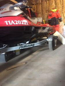 Seadoo GTX  Supercharged  with bunk trailer