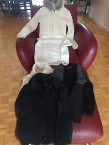 5 sweaters from -Jacob, T.Hilfiger, Hummel,Biker