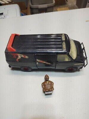 Vintage Ertl A-team Steel Van 1980's Toy Vintage
