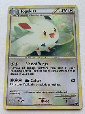 Togekiss 9/90 Holo HGSS Undaunted NM/M Mint Pokemon Card