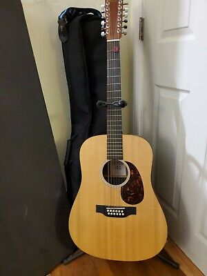 Martin X1D12E-CST 12 String Acoustic-electric Guitar w/ gig bag