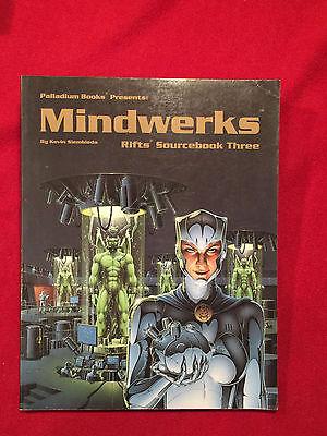 Rifts Sourcebook Three Mindwerks Palldium Books Large Softback Book RPG 1994