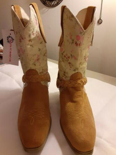 Womens square toe cowboy boots size 8