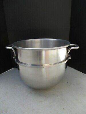 New  Nos Hobart D30 Stainless Steel 30 Qt. Mixer Bowl Sstd30 Wband