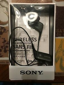 Sony Bluetooth Active  earbuds St. John's Newfoundland image 1