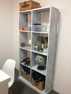 Refurbished wood bookshelf