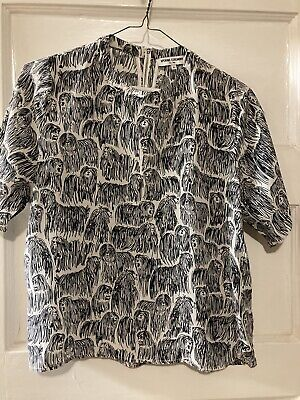 Opening Ceremony Silk Print Top Blouse Size 0