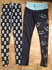 2 leggings taille Small