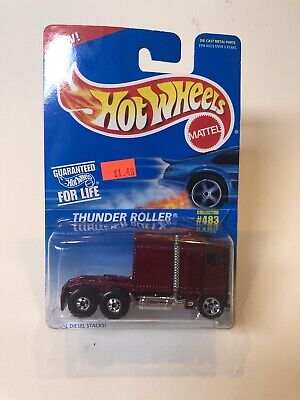 1995 Hot Wheels  Thunder Roller #483 Deep Red