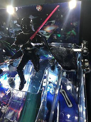 Star Wars SW Pinball Machine DARTH VADER LED mod stern