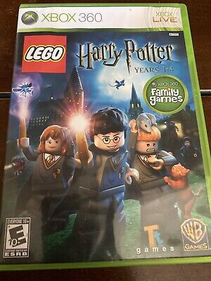 LEGO Harry Potter: Years 1-4 (Microsoft Xbox 360, 2010) Complete! Tested