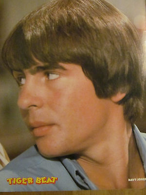 Davy Jones, The Monkees, Full Page Vintage Pinup