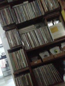 Pink Floyd led zeppelin Beatles Alice cooper rock records