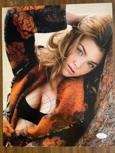 Sexy Game of Thrones Natalie Dormer Autographed Signed 11x14 Photo JSA COA #1