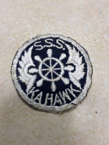 Boy Scout / Sea Scout SSS Kahawk Ship Patch - Kansas