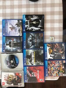 PS4 3DS Switch games