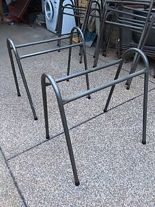 Steel tube trestle table supports South Murwillumbah Tweed Heads Area Preview