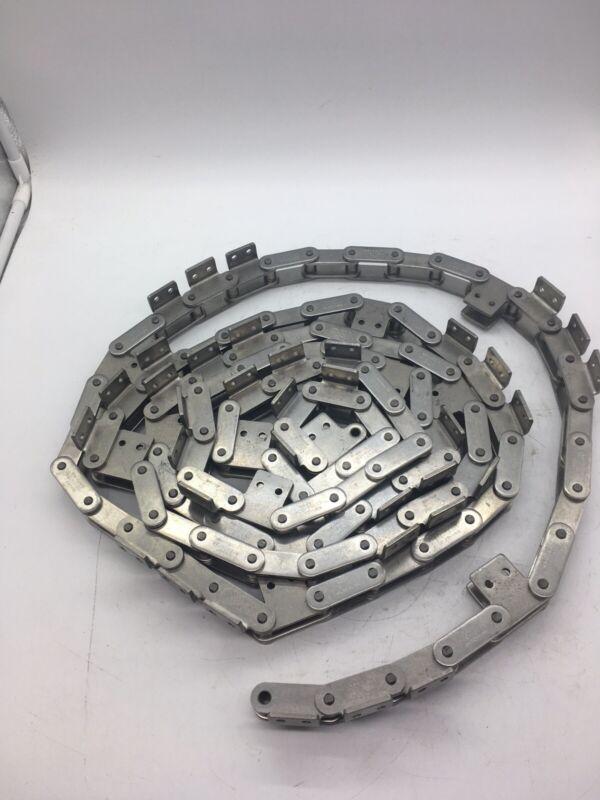 Senqcia Hitachi C2060-304 SS Conveyor Roller Chain 12.5
