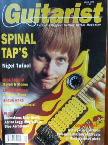 Guitarist Magazine - April, 1992