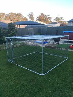 Dog enclosure