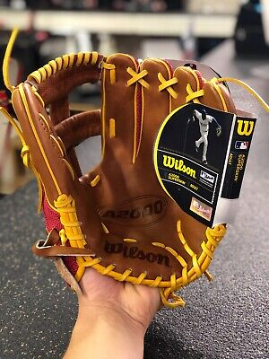 """Used, Wilson A2000 DP15 GM Pedrioa Fit Pro Stock Glove 11.75"""" for sale  Kamloops"""
