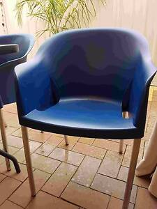 4 Plastic outdoor chairs Sturt Marion Area Preview