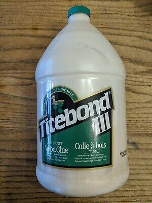 Franklin Titebond Ultimate Iii Wood Glue Gallon Jug