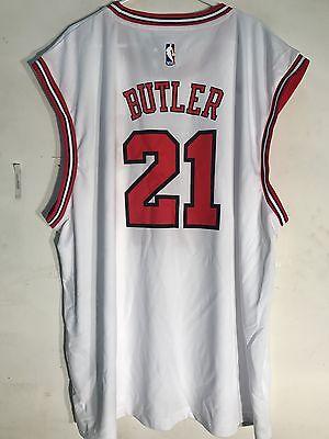 Adidas NBA Jersey Chicago Bulls Jimmy Butler White sz 4X