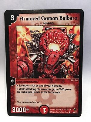 Armored Cannon Balbaro (34/55) | Duel Masters Trading Card Game Single Card