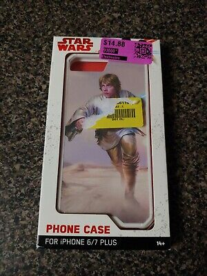 Thinkgeek KLII-SW-IP6A-1 Star Wars Luke Skywalker iPhone 6 Plus / 7 Plus Case