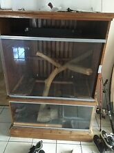Snake / reptile enclosure Broadbeach Gold Coast City Preview