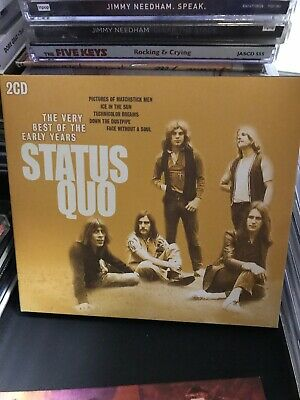 Best of the Early Years by Status Quo (UK) (CD, Oct-2015) Pre-owned. (The Best Of Status Quo)
