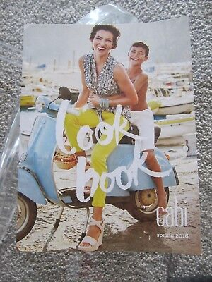 CAbi Spring 2016 Look Book Catalog Magazine New