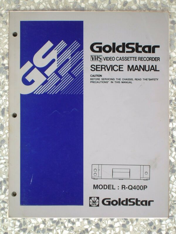 GoldStar R-Q400P service manual - 490-229J