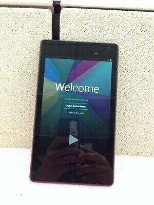 "Asus Google  Nexus 7 16GB  7"" Black Android Tablet WiFi | O724"