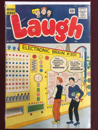 LAUGH 137 Professionally Graded VG 4.0 ARCHIE SERIES