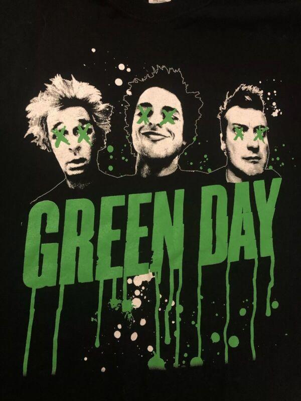 Green Day Revolution Radio 2017 Tour T-Shirt Men Size 2XL New Black