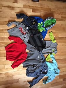 Baby boy -6-18 months clothes and shoes