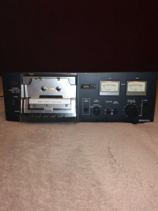 Sansui Cassette Deck SC-1110