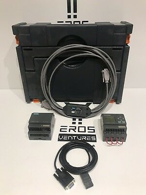 Siemens Logo Trainer Plc With Power Extension And Carrying Case