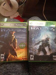 Xbox 360 Halo 3&4
