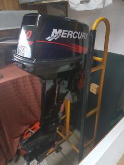 8hp mercury short shaft.