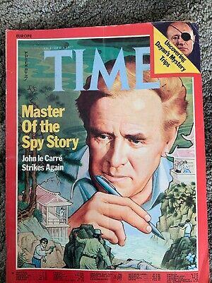 TIME Magazine October 3 1977 John Le Carre. Spy Story. Jane Fonda. Jimmy Carter