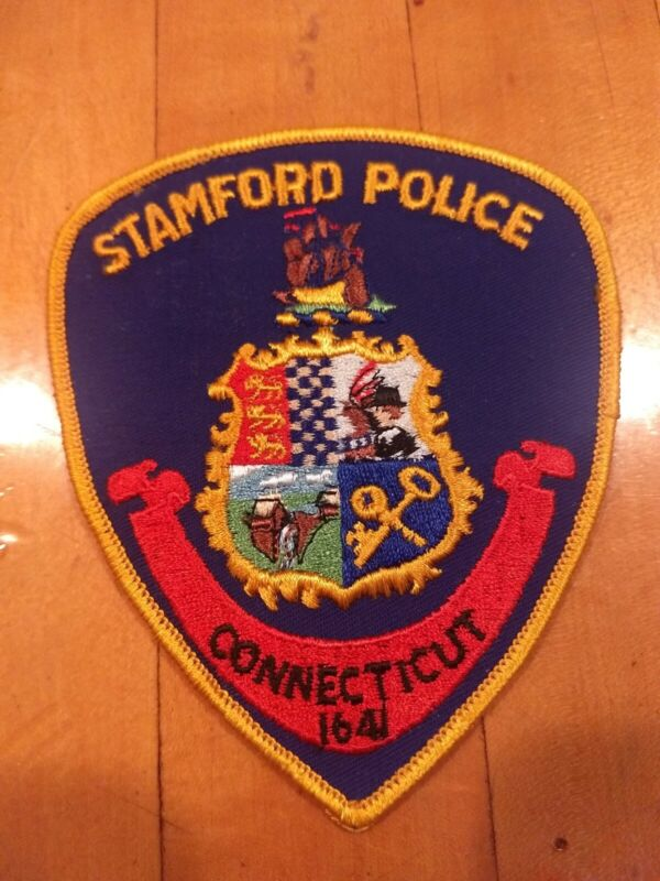 STAMFORD CT Connecticut Police Department Uniform Patch - New