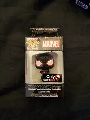 FUNKO POP! MILES MORALES POCKET POP GAMESTOP EXCLUSIVE GAMER SPIDER MAN NEW