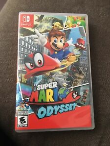 Nintendo Switch Super Mario Odyssey game
