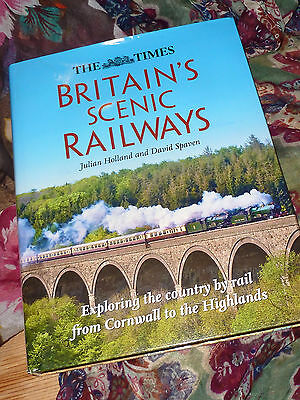 Britain's Scenic Railways, Large Hardback Book, Steam Train Exploring History